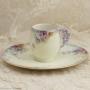 アビランド リモージュ 大輪の薔薇 デザートプレート 6枚セット