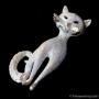 BSK-銀の猫キャット・ブローチ