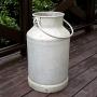アンティーク ミルク缶