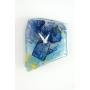 1点ものコムデシオガラスの壁掛け時計