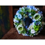 wreath Mmil(blue)