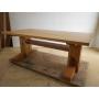 古材からののテーブル