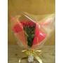 激安100本赤バラ