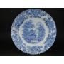 ブルー&ホワイト皿