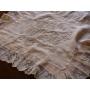 豪奢な白刺繍のピローカバー《Tesoro*テゾーロ》
