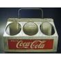 ★50'sコカ・コーラ社トレードマークアルミ製ボトルキャリーケース
