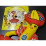 ★70'sアメリカ製チキータバナナ人形&ミニレコード