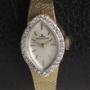 ルクルト14金 ダイヤ巻きブレス時計
