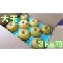 幸水 大玉3kg箱(8〜6個入り)
