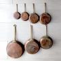 フランス本格派 銅のフライパン 7サイズ