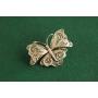 silverfiligree 蝶のブローチ