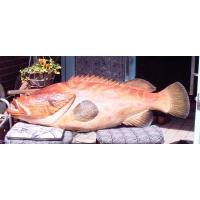 木彫りの魚(フィッシュカービング)東蜂堂